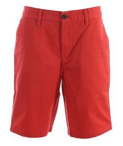 Analog Ag Chino 21In Shorts Red Fade