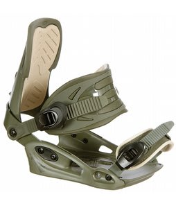 Agency TroIt C Snowboard Bindings OliveKhaki Mens