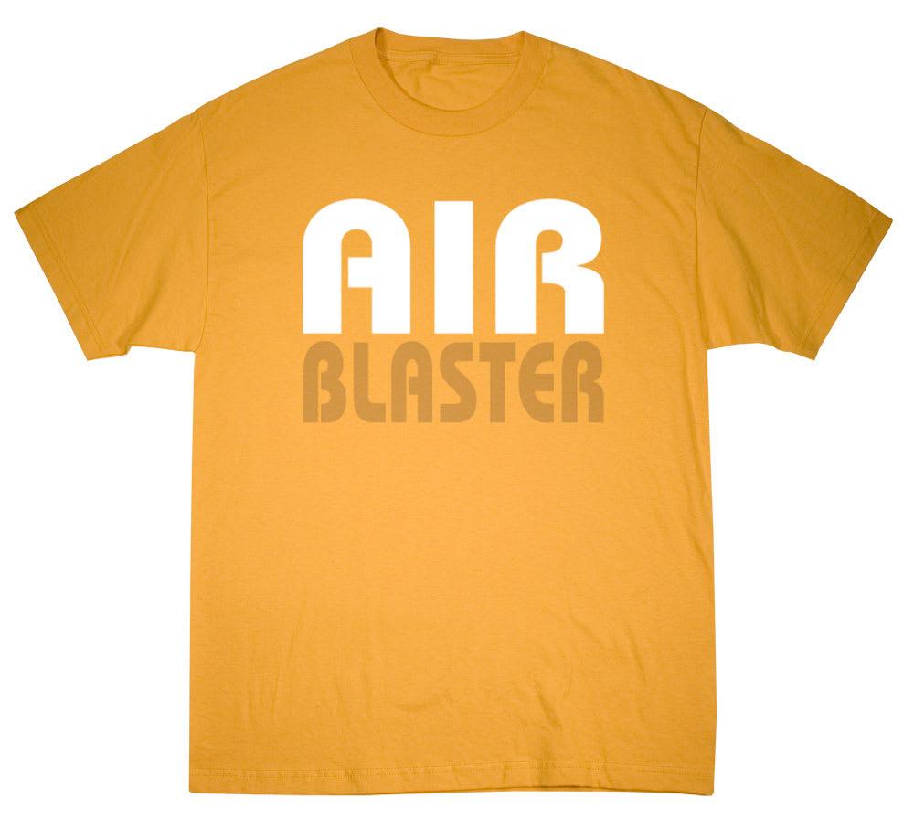 airblaster air pill t shirt mustard sz m. Black Bedroom Furniture Sets. Home Design Ideas