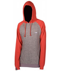 Airblaster Cale Hoodie Speckled Grey/Red