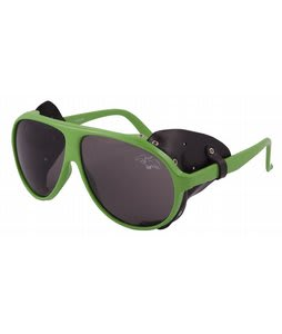 Airblaster Glacier Glasses Sunglasses Hot Green