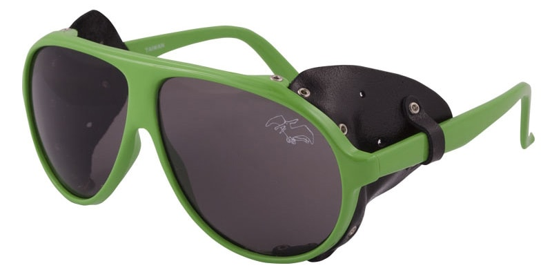 Shop for Airblaster Glacier Glasses Sunglasses Hot Green - Men's
