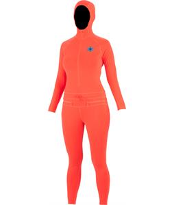 Airblaster Ninja Suit Baselayer Top Hot Coral