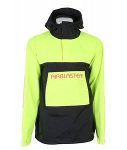 Airblaster Pullover Snowboard Jacket Yellow Mens