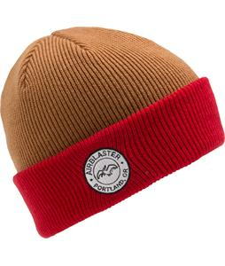 Airblaster Team Beanie Grizzly/Red