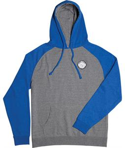 Airblaster Terry Patch Raglan Hoodie Gunmetal Royal