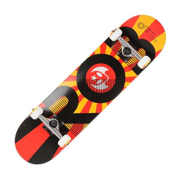 Alien Workshop Dyrdek Rising Skateboard Complete Red