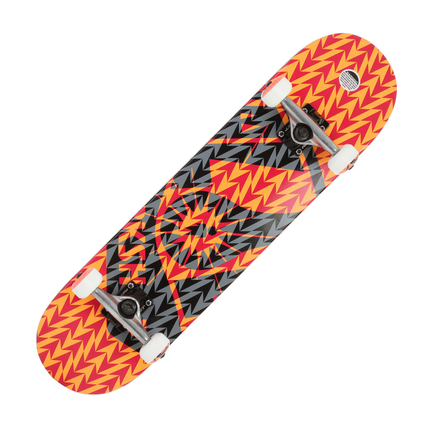 Alien Workshop OG Voltage Skateboard Complete Red