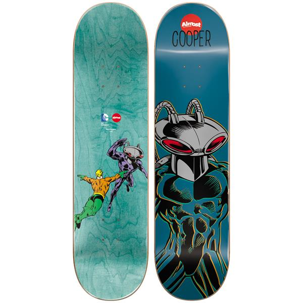 Almost Black Mantra Wilt Skateboard Deck