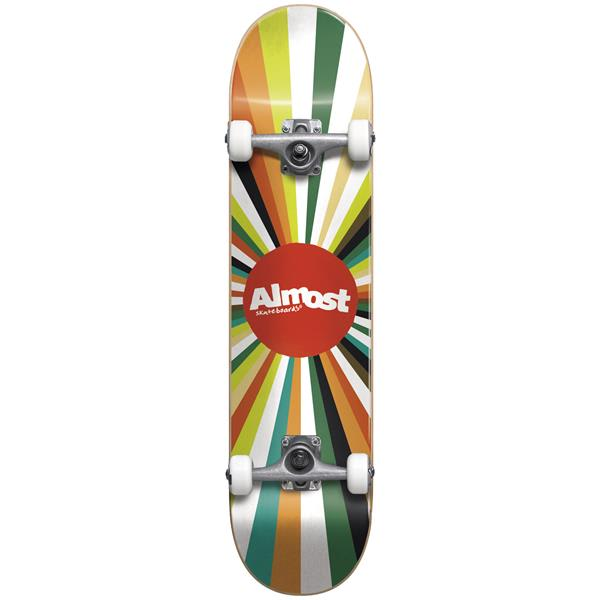 Almost Color Wheel Skateboard Complete