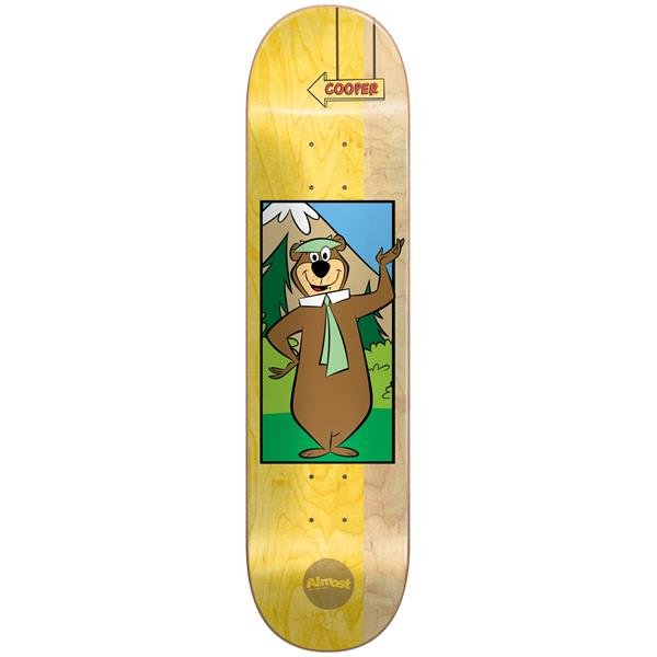Almost Cooper Yogi Bear R7 Skateboard Deck