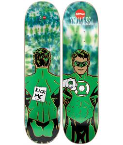 Almost Green Lantern Tie Dye Youness Skateboard Deck