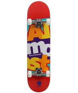 Almost Marquee Stack Skateboard Complete Red