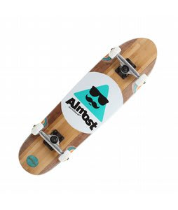 Almost Mo Bamboo Longboard Complete Brown