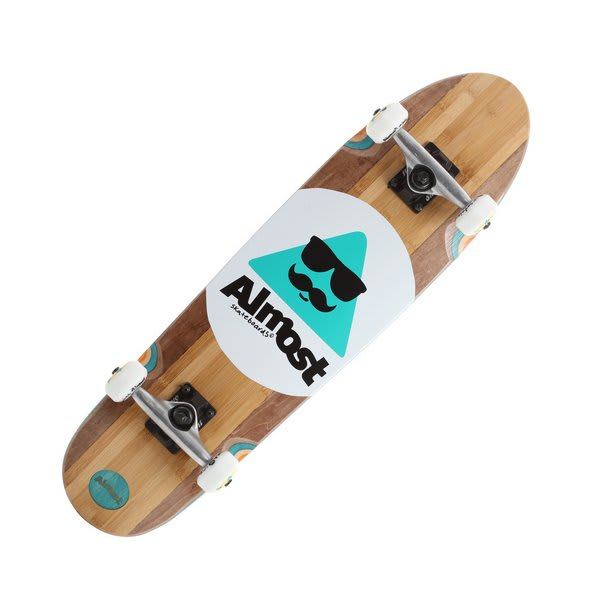 Almost Mo Bamboo Longboard Complete