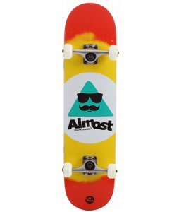 Almost MO TT Skateboard Complete Red/Yellow