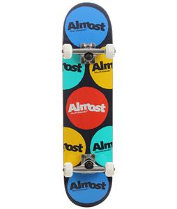 Almost Polka Skateboard Complete Red/Blue