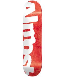 Almost Side Pipe Skateboard Deck