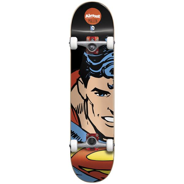 Almost Superman Split Face Mullen Skateboard Complete