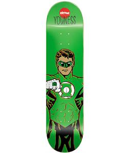 Almost Youness Pro Green Lantern R7 Skateboard Youness 8.0 x 31.6in