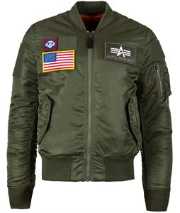 Alpha Industries MA-1 Flex Slim Fit Jacket