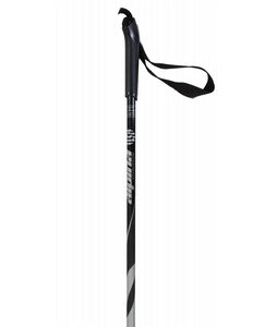 Alpina ASC ST Cross Country Ski Poles Silver Snowflake Basket
