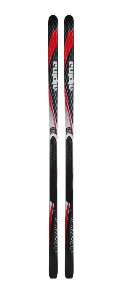 Shop for Alpina Control NIS Cross Country Skis Black/Red - Men's