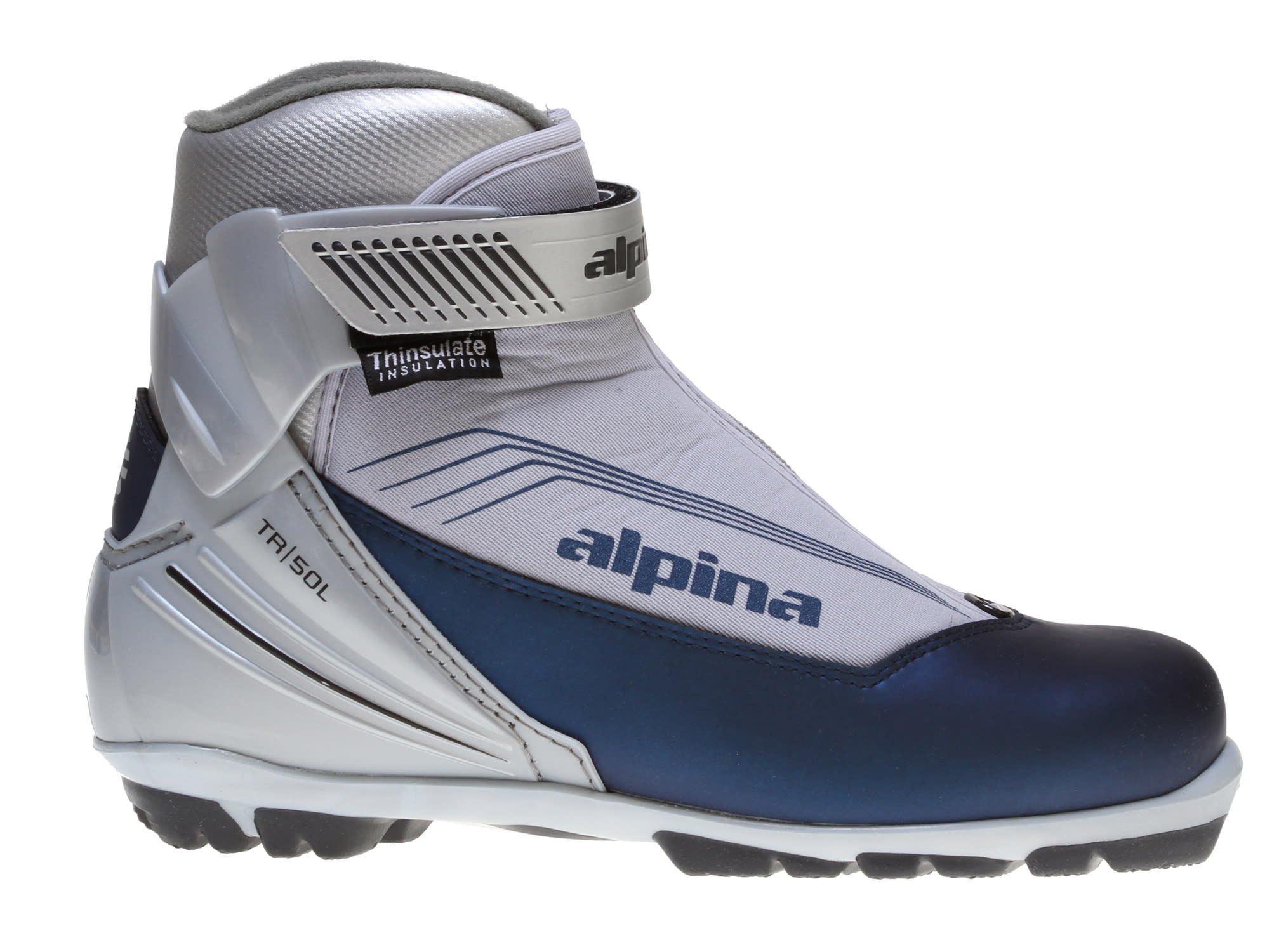 Shop for Alpina TR 50L Cross Country Boots Indigo - Women's