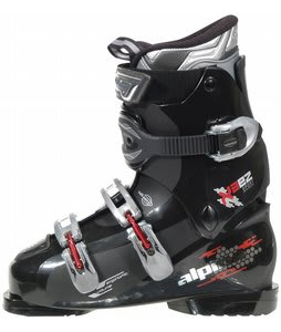 Alpina X3 Ski Boots Black