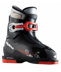 Alpina Zoom Ski Boots Black