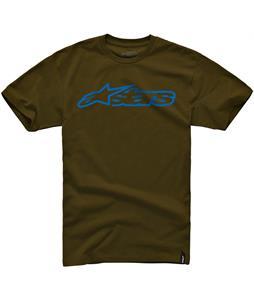 Alpinestars Blaze Classic T-Shirt Java/Blue