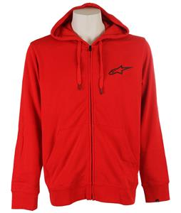Alpinestars Ranking Zip Hoodie Red