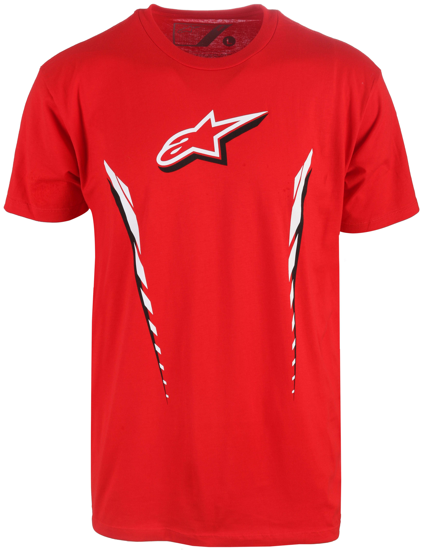 Alpinestars Axial T-Shirt at3axi06rd15zz-alpinestars-t-shirts