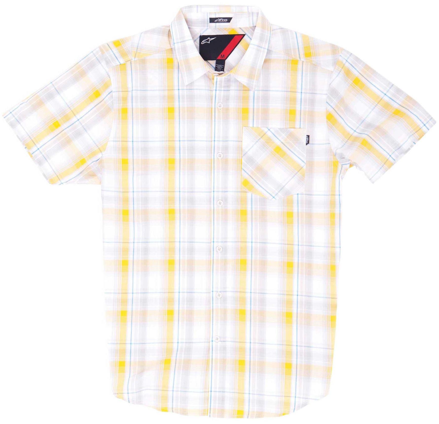 Alpinestars Gazam Shirt at3gaz02wh14zz-alpinstars-shirts-poloss