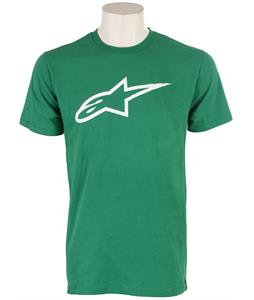 Alpinestars Clip Label T-Shirt Kelly Green