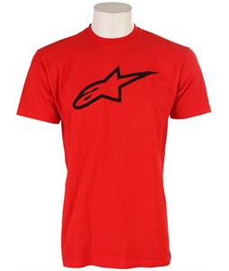 Alpinestars Clip Label T-Shirt Red