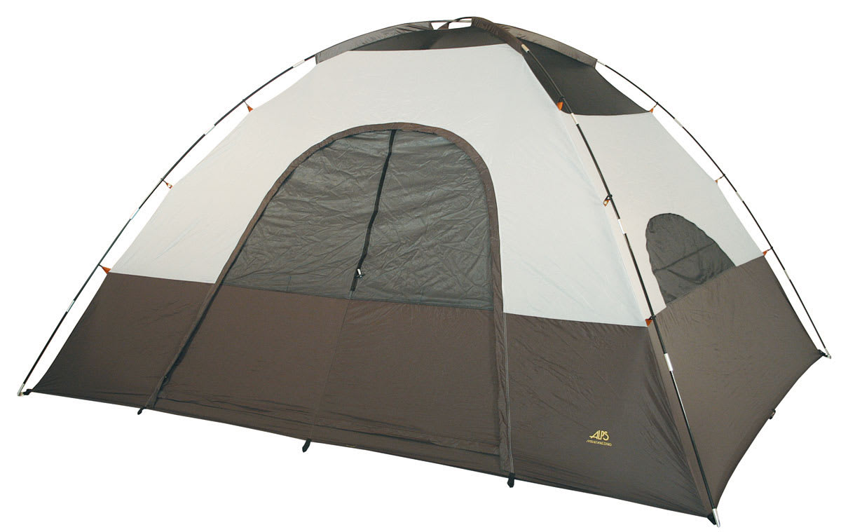 Shop for Alps Meramac 2 Room 6 Person Tent Sage/Rust