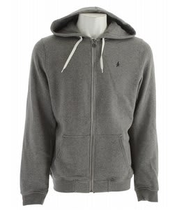 Altamont Basic Zip Hoodie Grey/White