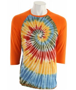 Altamont Droost Tie Dye T-Shirt Orange