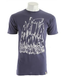 Altamont Fos Rubble T-Shirt Blue