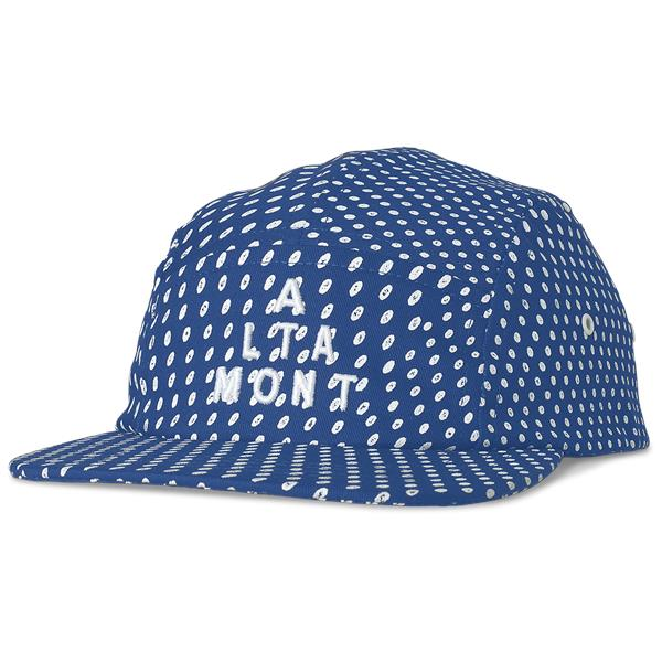 Altamont Polka Dot Camp 5 Panel Cap