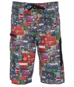 Analog B Side Boardshorts Extra Level