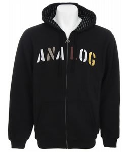 Analog Habitual Full Zip Hoodie True Black