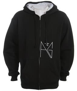 Analog Oracle Zip Hoodie True Black