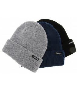 Analog 3 Pack Beanies Grey/Blue/Black