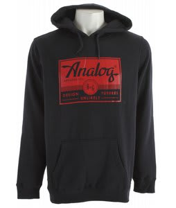 Analog A And G Registered Hoodie Navy Blue