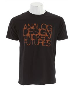 Analog AG Corrosion Slim T-Shirt Black