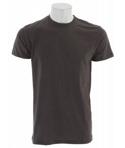 Analog AG Heather Crew T-Shirt Charcoal Heather