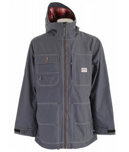 Analog Alcatraz Snowboard Jacket Indigo Denim