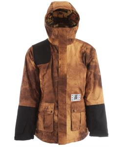Analog Alder Snowboard Jacket Community Service Print
